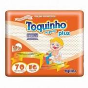 FRALDA TOQUINHO PLUS EG C/70