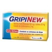 GRIPINEW CAIXA COM 20 COMPRIMIDOS