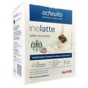 Inelatte Sabor Chocolate c/ 60 Tabletes Mastigáveis c/ Açúcar
