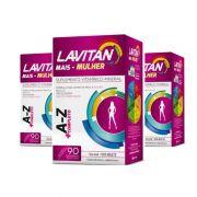 Kit Lavitan A-Z  3 caixas com 90 comprimidos