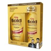 KIT NIELY GOLD CONDICIONADOR+SHAMPOO QUERATINA.RE