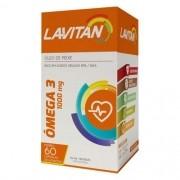 LAVITAN OMEGA 3 COM 60 COMPRIMIDOS