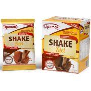 Lipomax Shake Diet Chocolate - 7 sachês de 40g