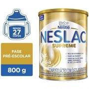 Neslac Supreme Composto Lácteo Infantil Nestlé Lata 800g