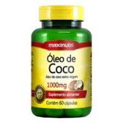OLEO DE COCO 1000MG/60 MAXINUTRI
