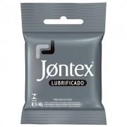 PRESERVATIVO JONTEX LUBRIFICANTE COM 3