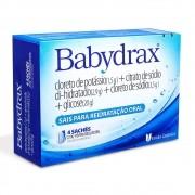 SORO DE  HIDRATAÇÃO BABY DRAX 4 ENVELOPES