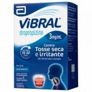VIBRAL 3MG/ML XAROPE ADULTO 120ML