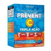 VITAMINA PREVENT C TRIPLA AÇÃO COM 60 CAPSULAS