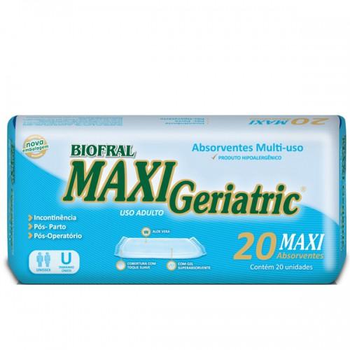ABSORVENTE GERIATRICO MAXI GERIATRIC C/20 UNIDADES