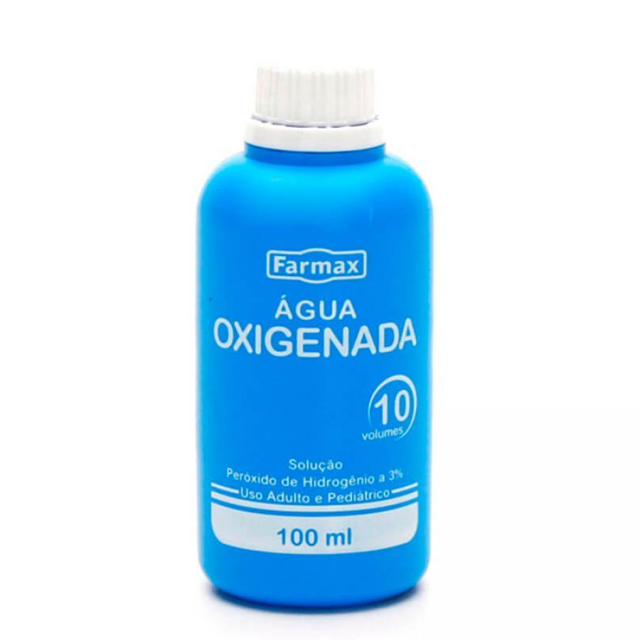AGUA OXIGENADA 10VOL  100ML FARMAX