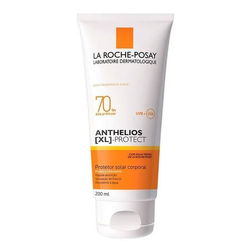 Anthelios Xl Protect Fluído Corporal Com Perfume Fps70 200ml