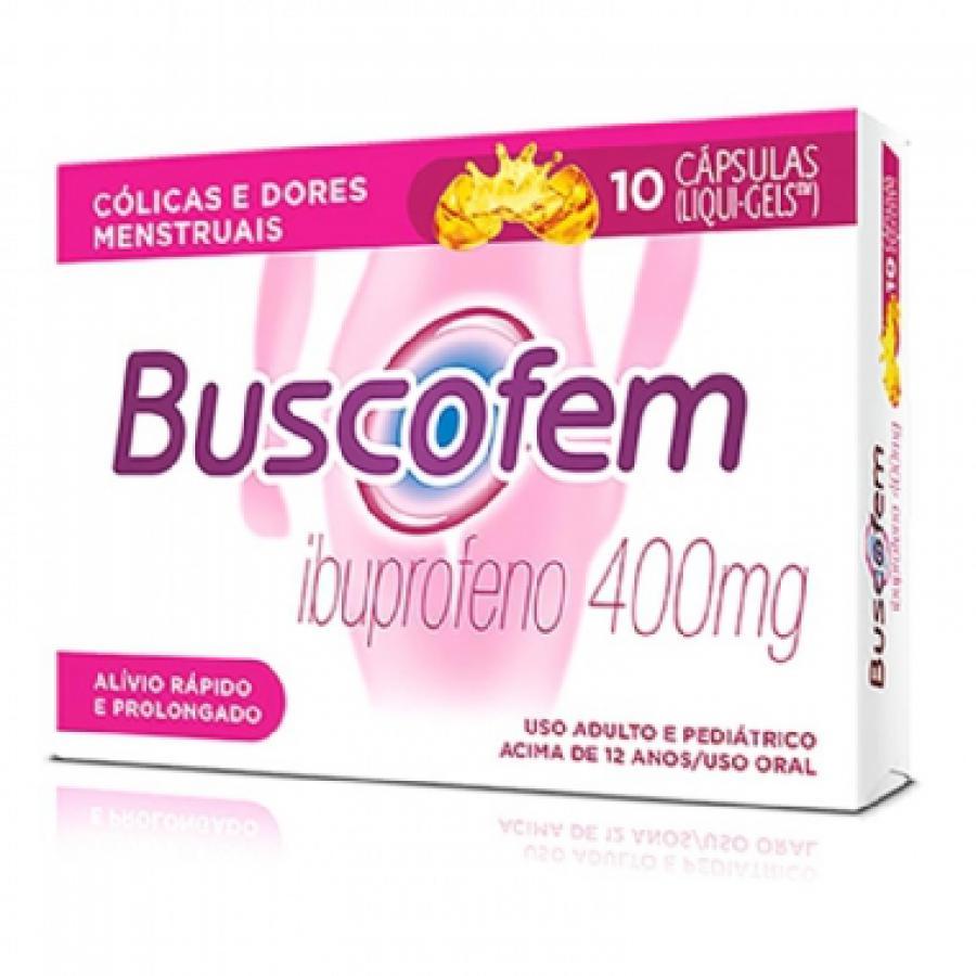 BUSCOFEM 400MG 10'S