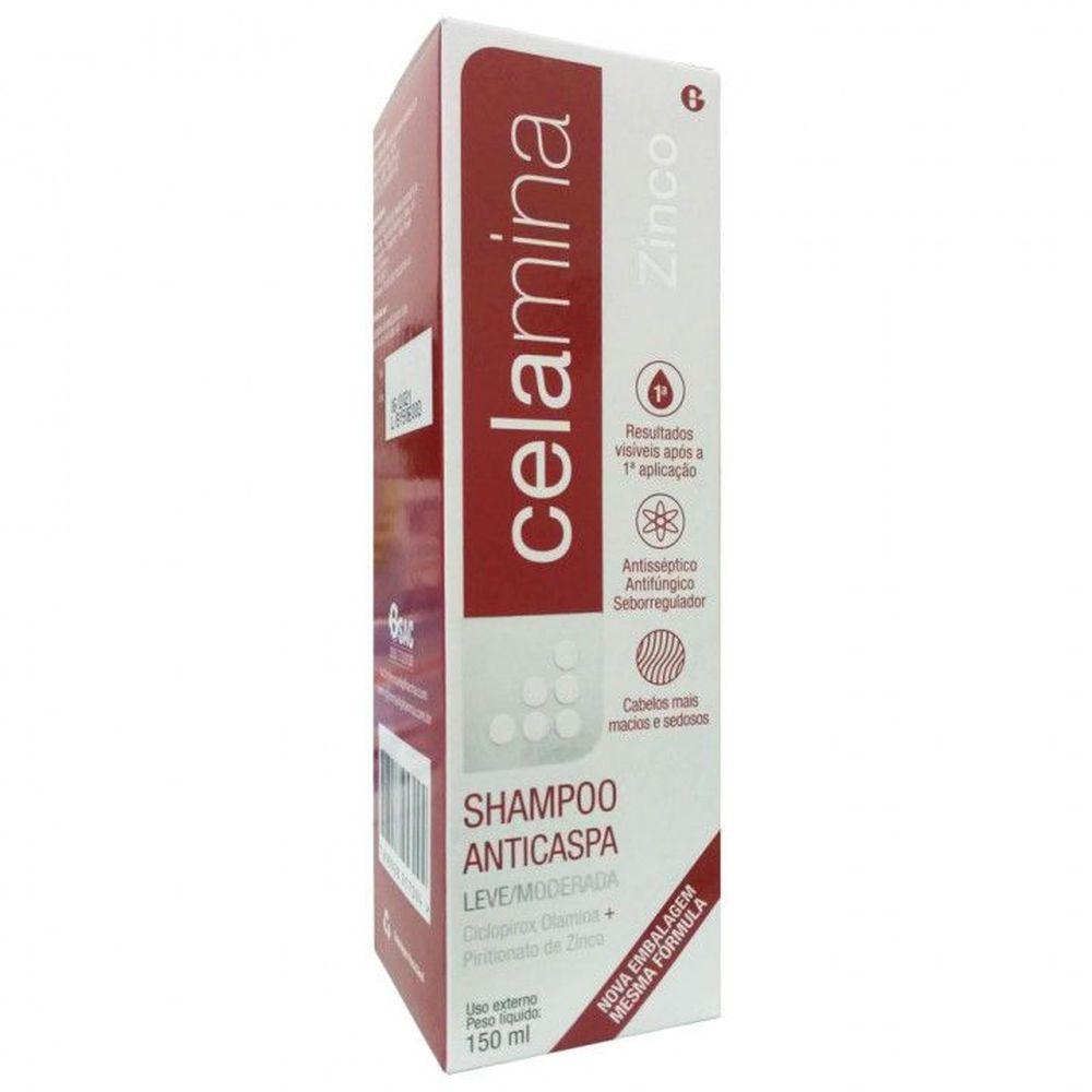 Celamina Zinco Shampoo Anticaspa 150mL