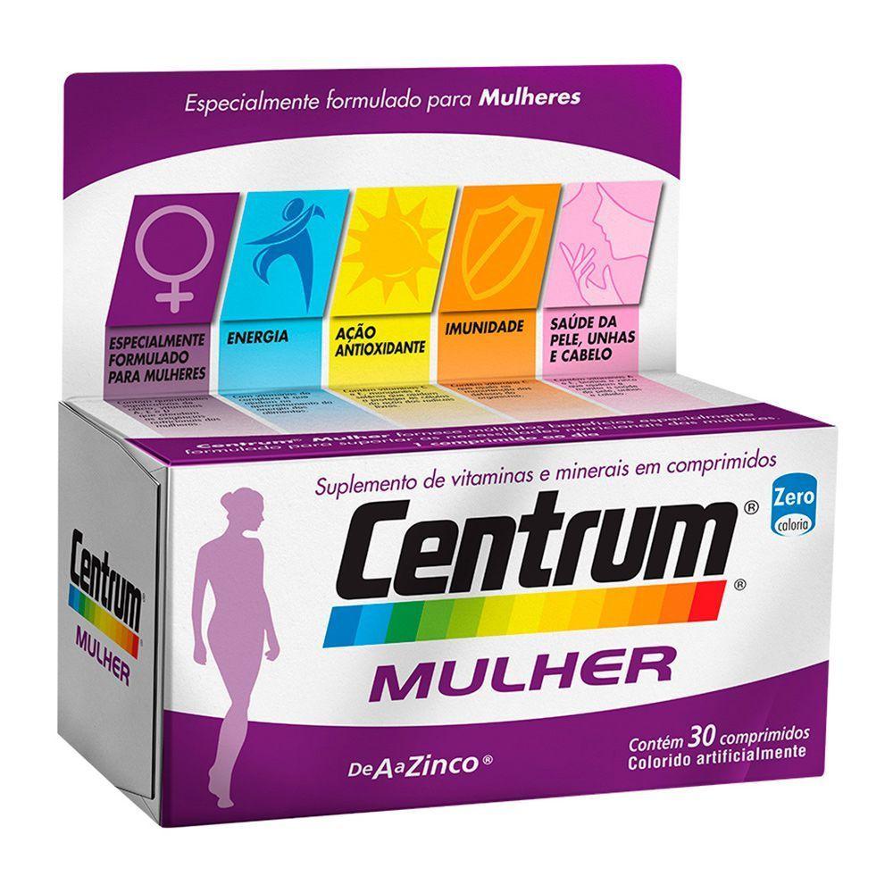 Centrum mulher com 30 comprimidos