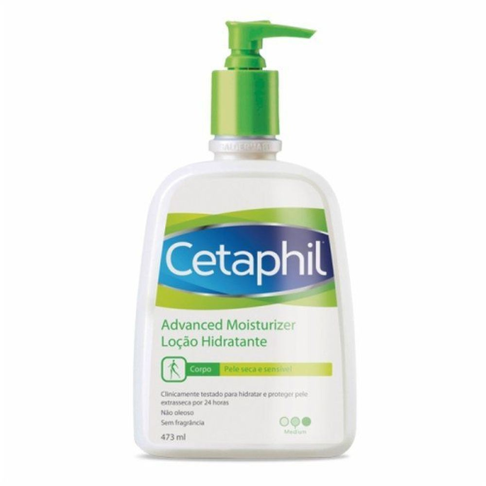 Cetaphil Advanced Moisturizer 473ml  - Pele Seca E Sensivel