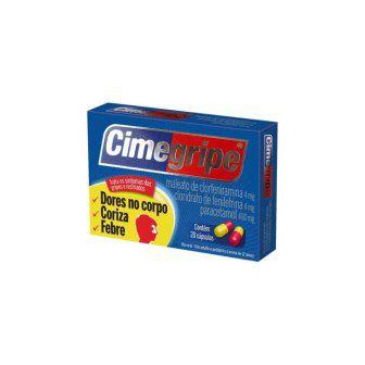 Cimegripe com 20 Capsulas
