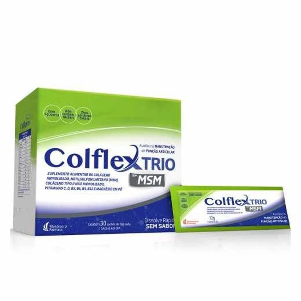 Colflex Trio Colágeno E Vitaminas 30 Sachês