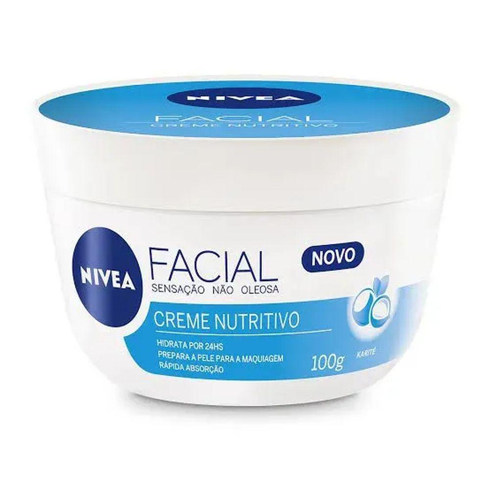 Creme Facial Nutritivo 100g - Nivea