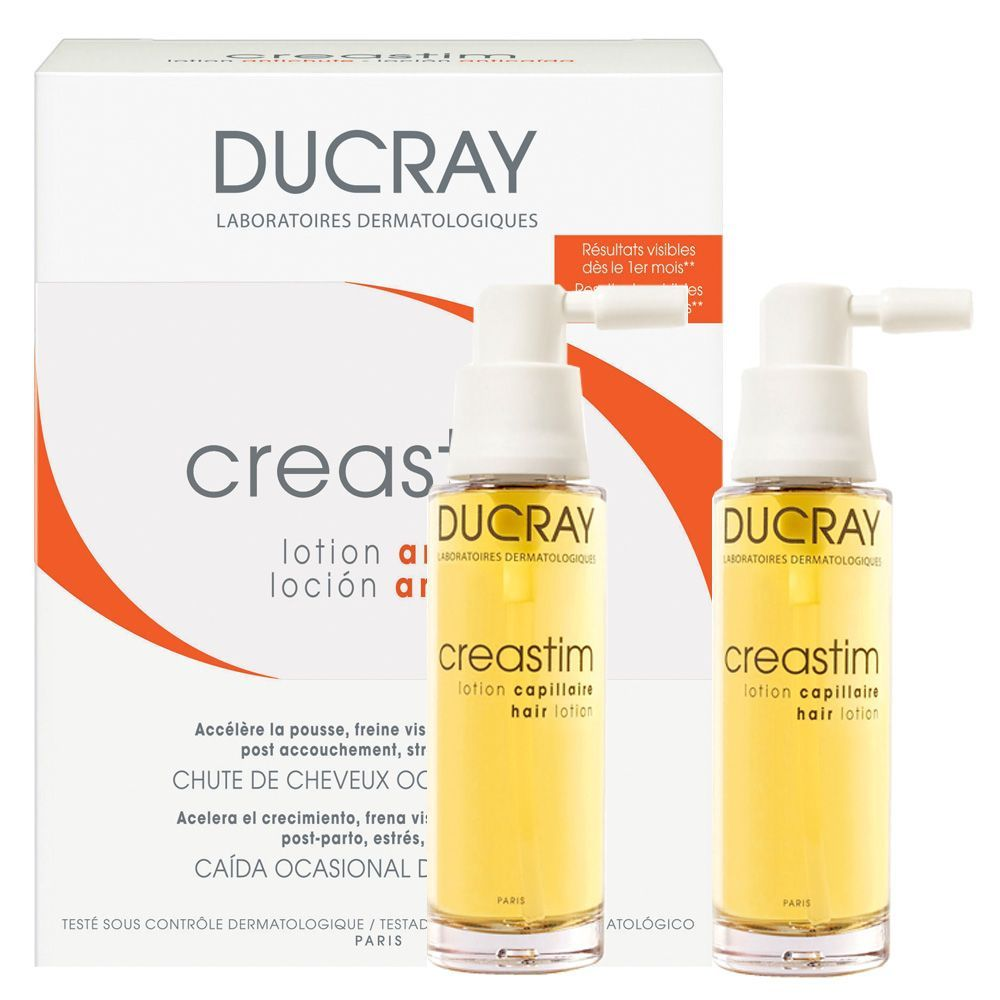 Ducray Creastim Loção Antiqueda Spray cx com 2 spray