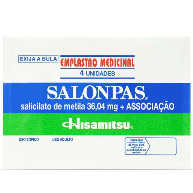 EMPLASTO SALOMPAS PEQ. C/4   *