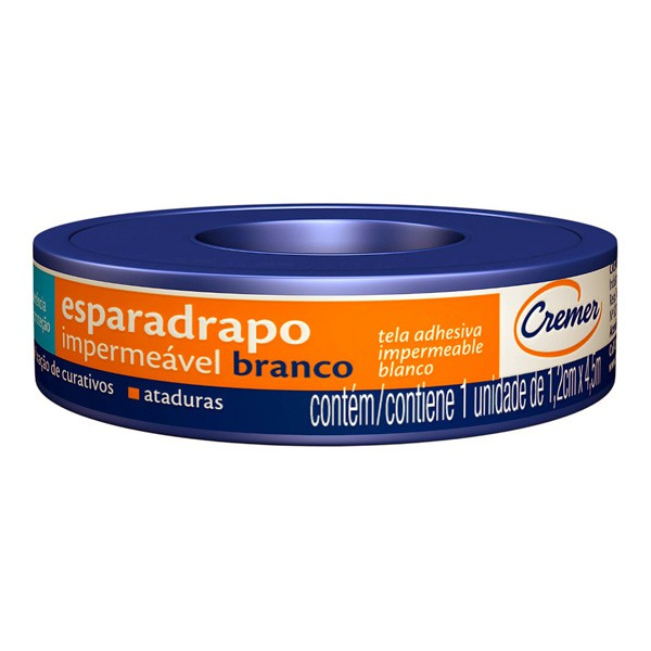 ESPARADRAPO CREMER IMPERM 12X4,5
