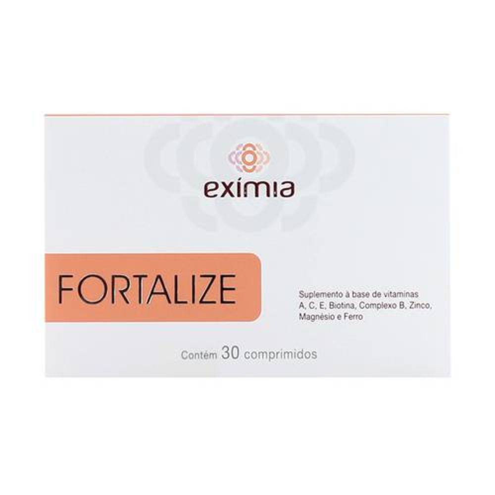 Eximia Fortalize - Suplemento Vitamínico - Com 30 Comprimidos