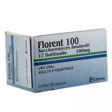 FLORENT 100MG RESTAURADOR INTESTINAL 12 COMPRIMIDOS CIFARMA