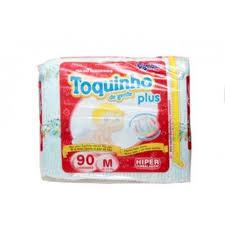 FRALDA TOQUINHO PLUS M C/90