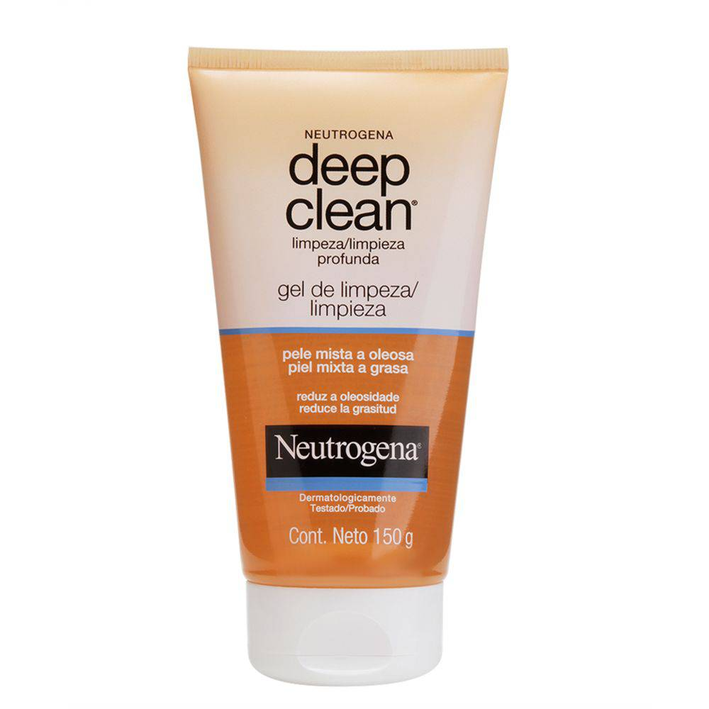 Gel Limpeza Profunda Neutrogena Deep Clean 150g