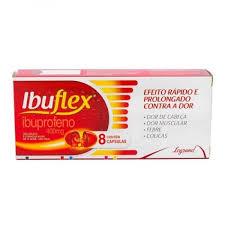 IBUFLEX 400MG 8 CAPSULAS (IBUPROFENO)