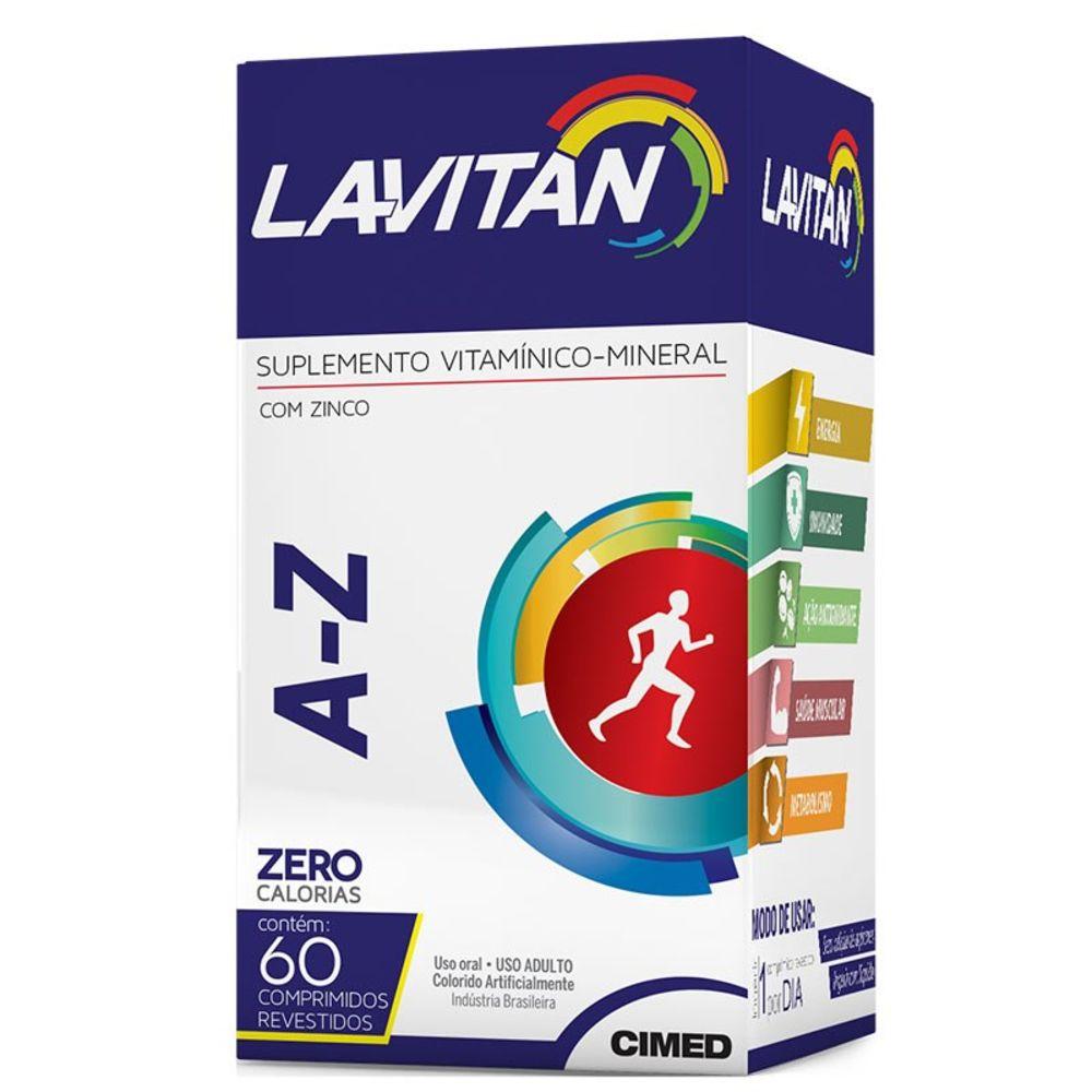 Lavitan A-Z C/ 60 Comprimidos Revestidos