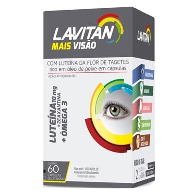 LAVITAN MAIS VISÃO VITAMINA 60 COMPRIMIDOS