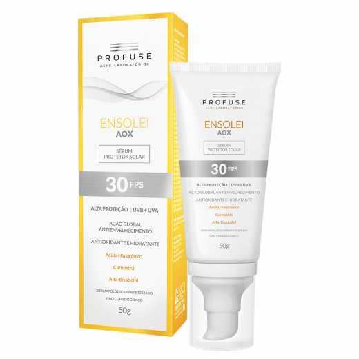 Protetor Solar Serum Profuse Ensolei Aox Fps30 50g