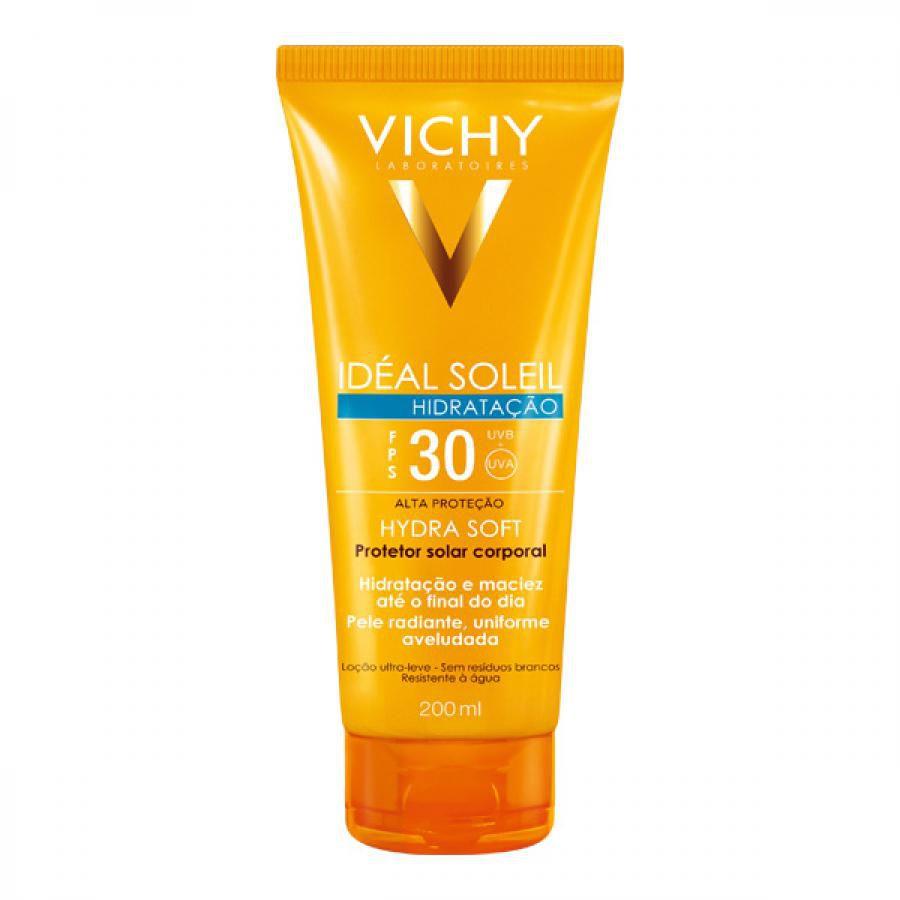 Protetor Solar Vichy Idéal Soleil Hydra Soft Fps 30 - 200ml