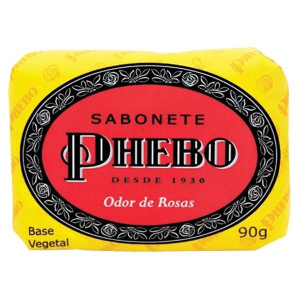 SABONETE PHEBO 90G ODOR DE ROSAS  *