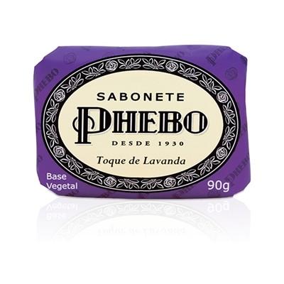 SABONETE PHEBO 90G TOQUE DE LAVANDA