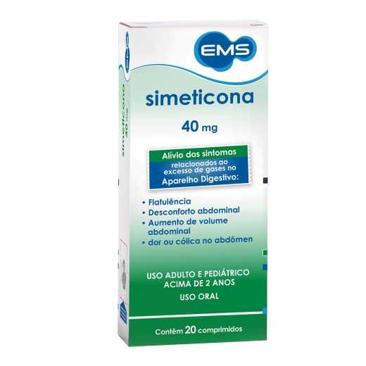 SIMETICONA 40MG  COMPRIMIDOS EMS
