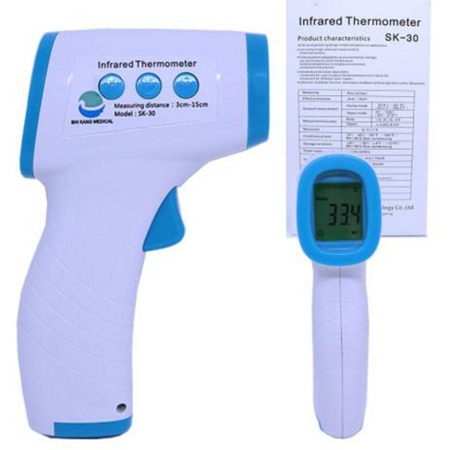 Termometro Laser Digital Infravermelho Adulto Infantil Testa - Shikang