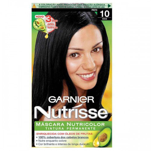 TINTURA NUTRISSE 10 PRETO