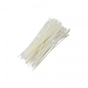Abraçadeiras de Nylon para Lacre 2,5mm x 100mm - Branca