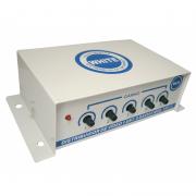 Distribuidor amplificador de sinal de vídeo 5 saídas.
