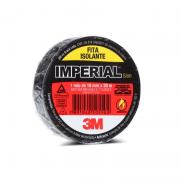 Fita Isolante Imperial Classe C 3M - Preto