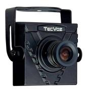 Mini Câmera Tecvoz (420TVL | 1/3 | 3.6mm).