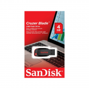 Pendrive Cruzer Blade 4GB Sandisk.