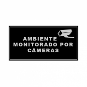 Placa de Alumínio Ambiente Monitorado