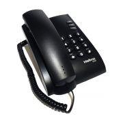 Telefone c/ Fio Intelbras Pleno Preto!