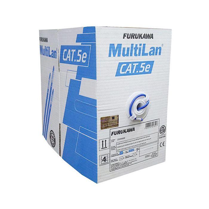 Cabo de Rede Furukawa Multilan Cat5e Homologado Anatel 24AWG - Metros