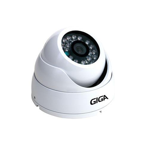 Câmera Giga GS0028 Dome Open HD Sony Exmor IR 30M UTC DWDR IP66 (2.0MP | 1080p | 3.6mm | Metal)