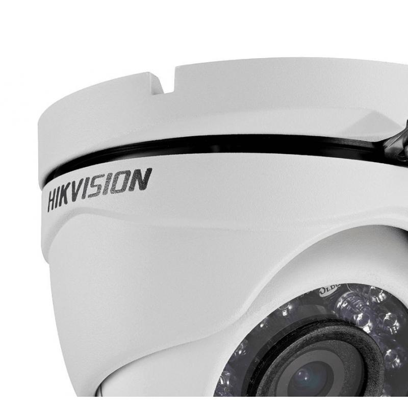 Câmera Hikvision Dome Flex DS-2CE56C0T-IRMF (1.0MP | 720p | 2.8mm | Metal)
